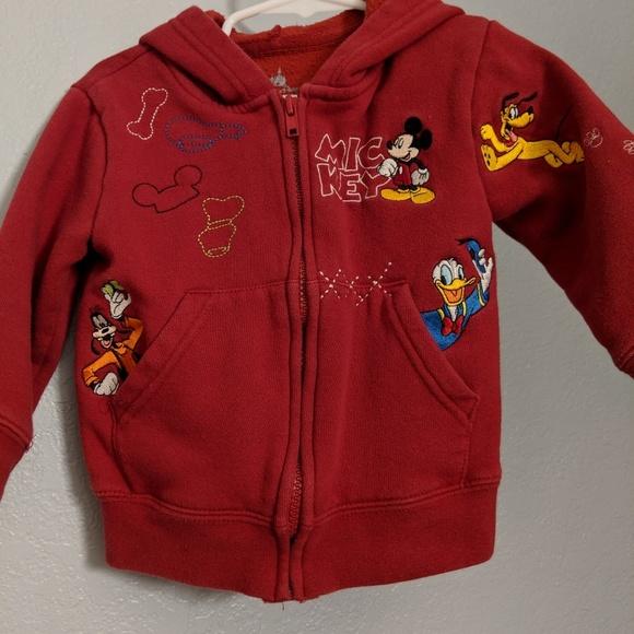 Disney Shirts Tops Toddler Boys Mickey Mouse Hoodie Poshmark